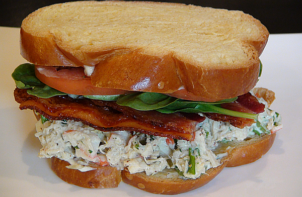 RECIPE: Succulent Crab Salad Club Sandwich | BlackandMarriedWithKids ...