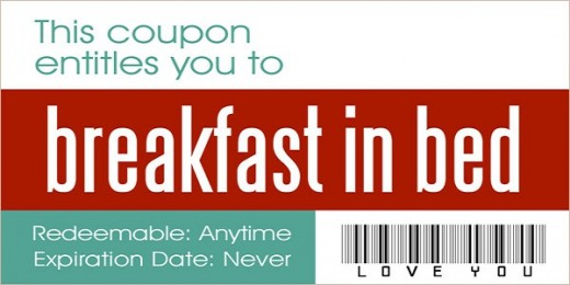 10 love coupons every couple should exchange for Coupon book template for husband