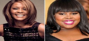amber riley whitney houston