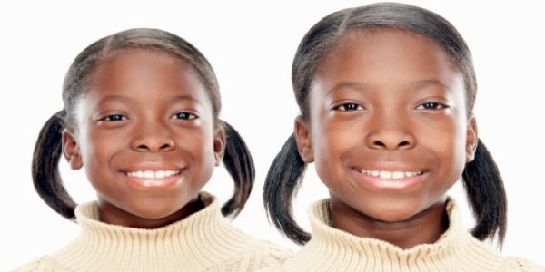 African American Identical Twins Raising identical twins can be