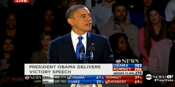 barack obama victory speech article