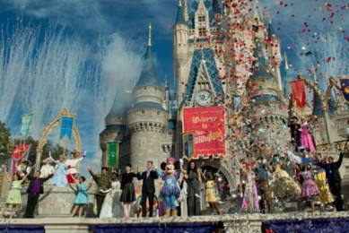 Grand Opening Celebration for Disney's New Fantasyland on December 6, 2012.