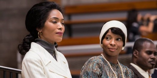 "Angela Bassett and Mary J. Blige in the upcoming Lifetime Original Movie ""Betty & Coretta"""