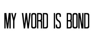 My Word is Bond