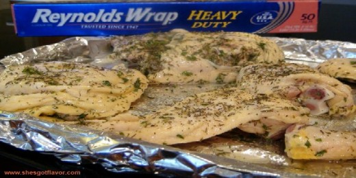BMWK Foil and Chicken (600x409)