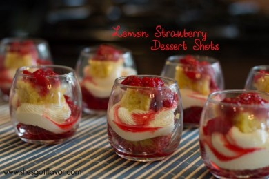 Lemon Strawberry Dessert Shots Feature 2REVISED