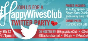 #HappyWivesClub Twitter Party - 1PM EST Jan 6 2014