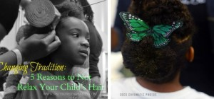 5 Reasons Not to Relax Your Child's Hair