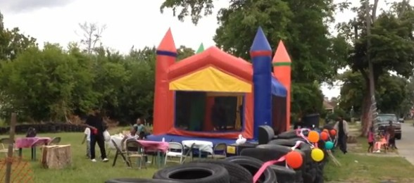 Detroit Dad Transforms Neighborhood To Create Family Fun