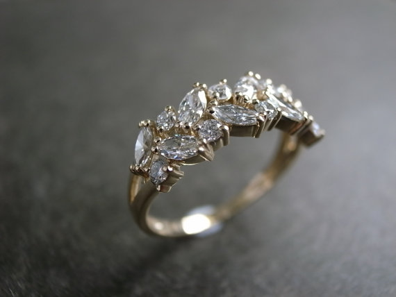 nature inspired - Nature Inspired Wedding Rings