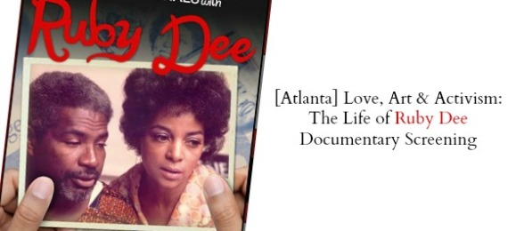 Ruby Dee, Love art and activism
