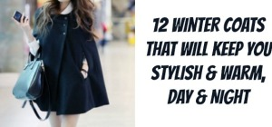 12 Stylish Coats