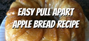 Easy Pull Apart Apple Bread