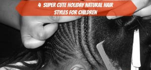 BMWK Natural Hair For Children - Hands Doing CornRows