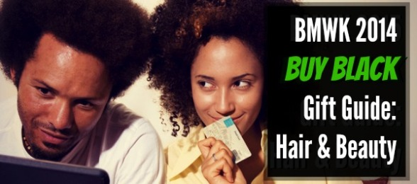 BMWK 2014 Buy Black Gift Guide Hair & Beauty