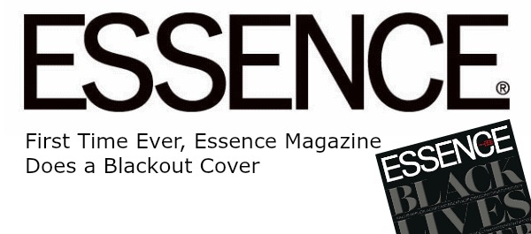 First time ever essence magazine does a blackout cover for Essence magazine recipes