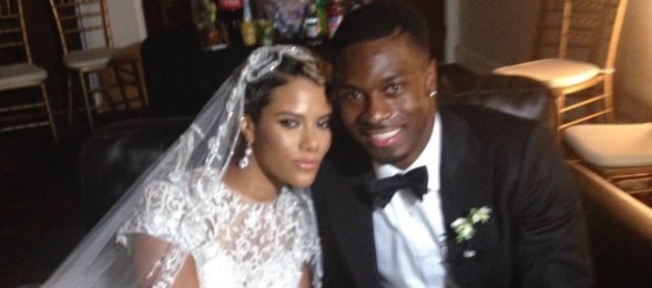 AJ-Green-and-Miranda-Brooke-Wedding-anchor-pic-blackbridalbliss