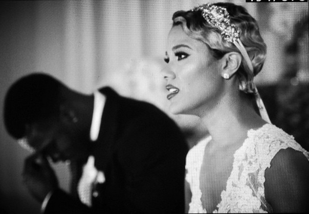 AJ-Green-and-Miranda-Brooke-Wedding-bride-close-up-blackbridalbliss