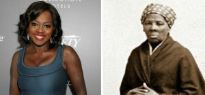 Left: Viola Davis (Photo by Angela Weiss/Getty Images for Variety) Right: Harriet Tubman (File Photo)