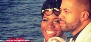 Fantasia Barrino and HusbandFeature