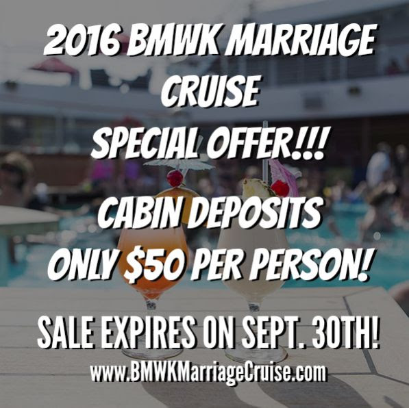 BMWKMarriageCruise50DollarPromotion
