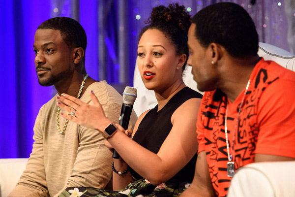 Steve Harvey And Lance Gross Discuss Supporting A Spouse's Dreams ...
