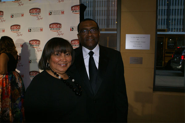 Freedom Awards- Tyrone and Nelda Burroughs