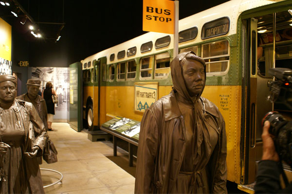 National Civil Rights Museum - Bus Bombing