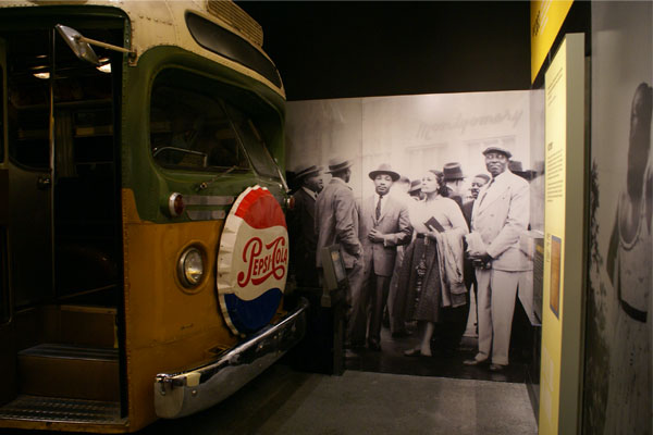 National Civil Rights Museum - Montgomery Bus Boycott