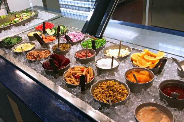 Salad Bar at CEC