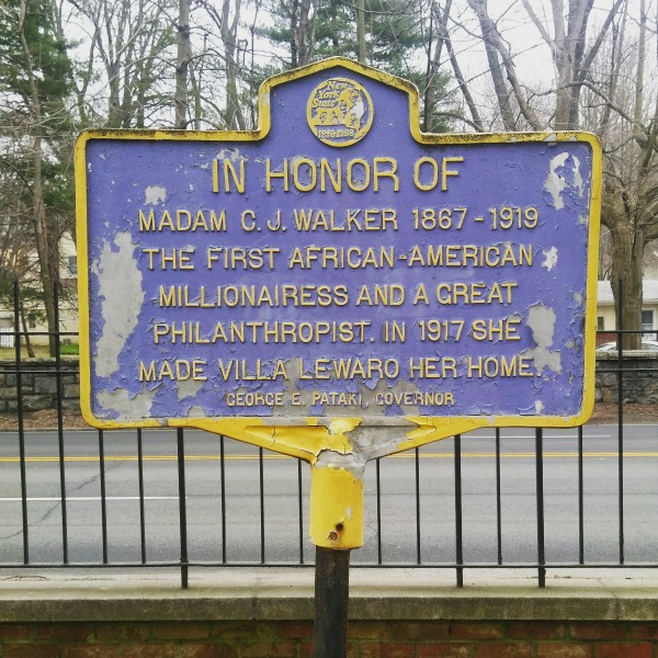 Madam CJ Walker Sign