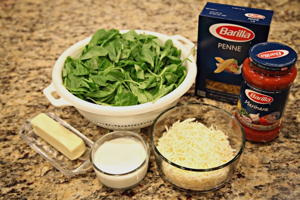 My most delicious recipes include Barilla® Blue Box pasta and Barilla® sauce.